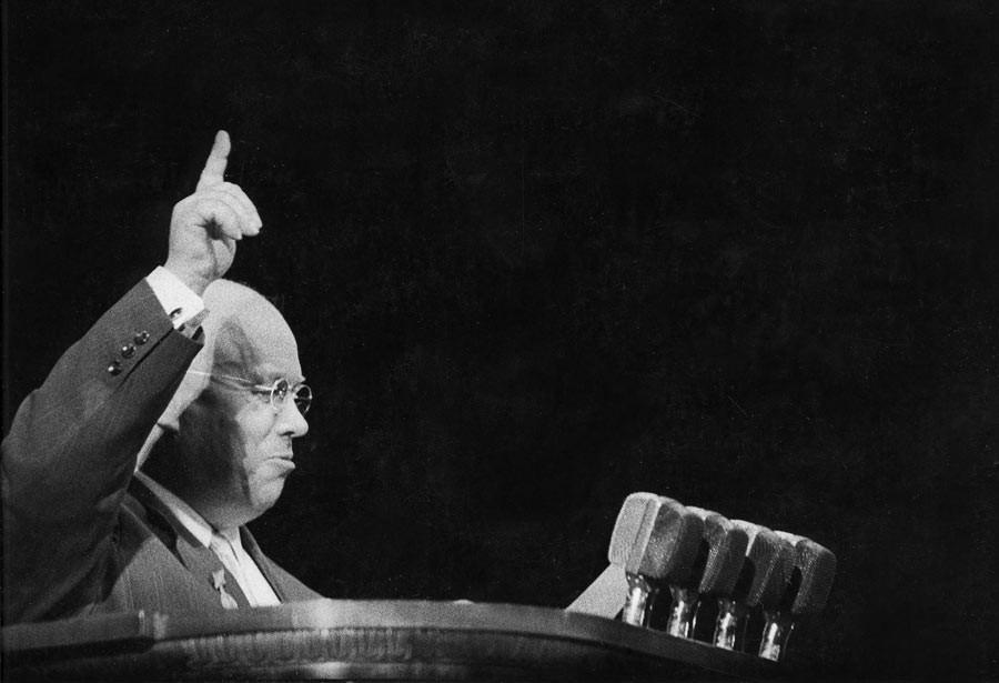 Nikita Khrouchtchev, Moscou, 1960