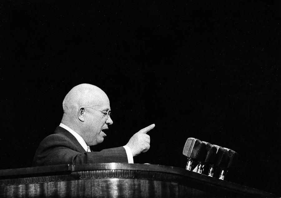 Nikita Khrouchtchev, Moscow, 1960