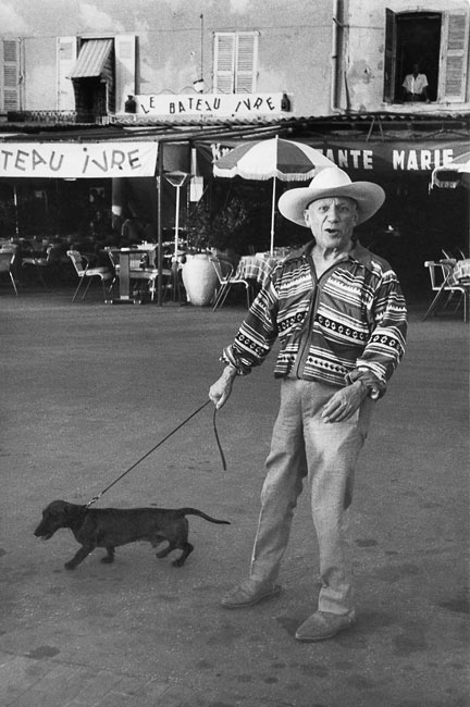 Pablo Picasso, Saint-Tropez, 1957