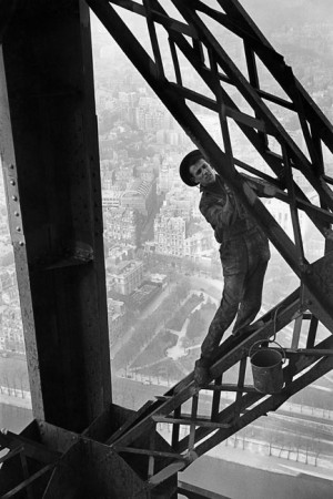Painter of the Eiffel tower (variant), 1953