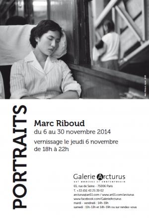 marc riboud portraits galerie arcturus