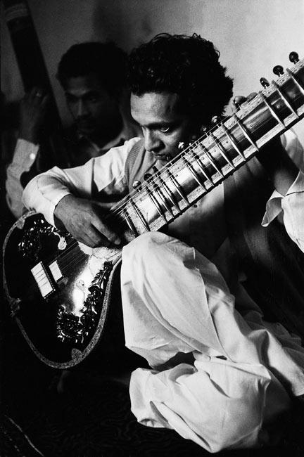 Ravi Shankar, Inde, 1956