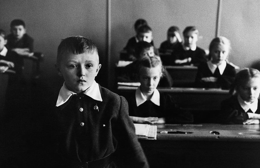 Schoolboy in Moscow, 1960