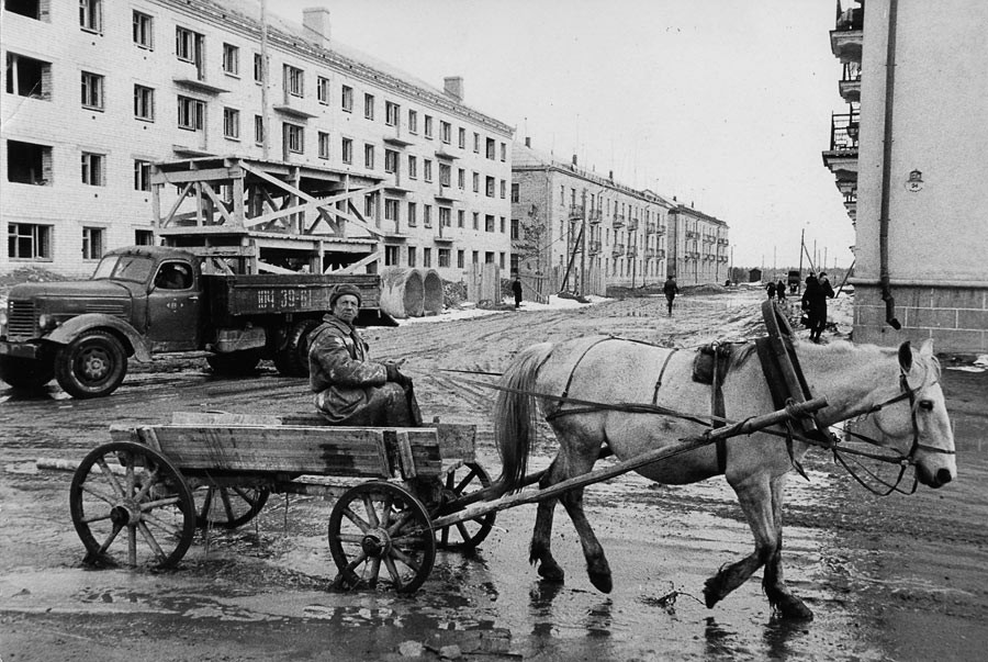 Banlieue de Moscou, 1960