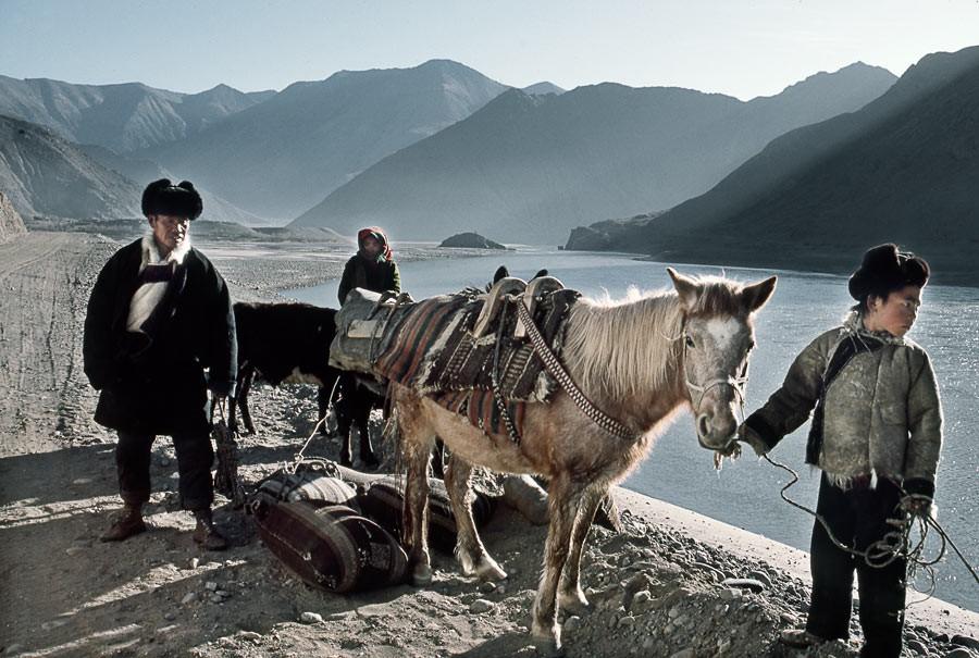 Lac de Yamdrok Tso, 1985