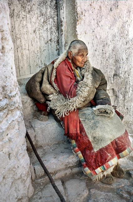 Nonne à Shigatsé, 1985