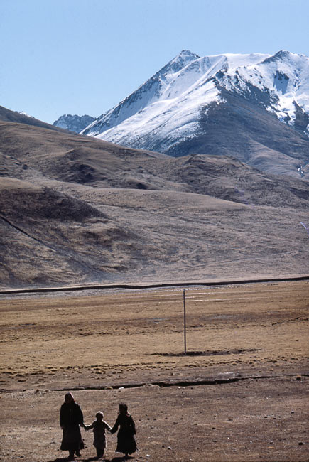 At the foot of the Himalaya, 1985