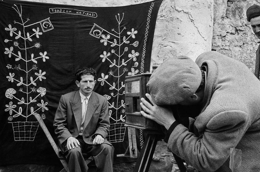 Street photographer's studio, 1955