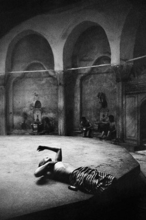 Cagaloglu hammam, Istanbul, 1955
