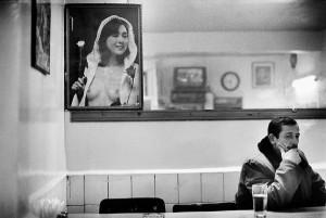 In a café, Istanbul, 1999