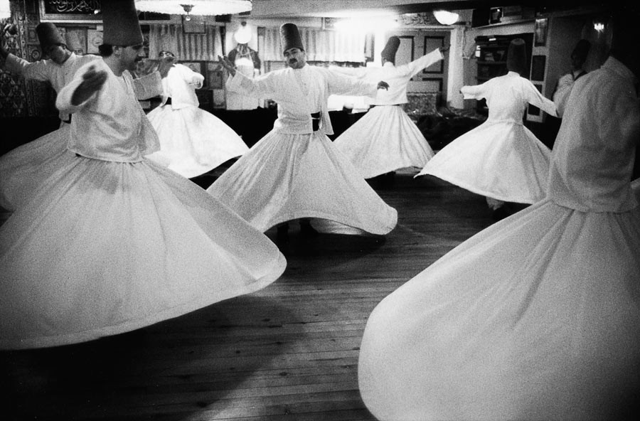 Dervishes in Istanbul, 1998