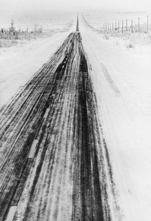 Alaskan highway, 1958