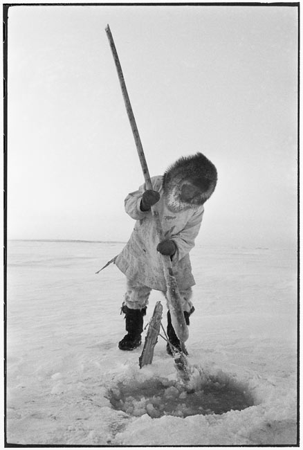 Fisherman in Kotzebue, Alaska, 1958