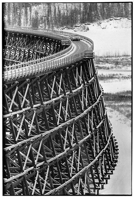 Taylor Flat Bridge, Bristish Columbia, Canada, 1958
