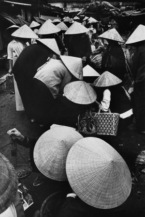 Danang market, South Vietnam, 1967