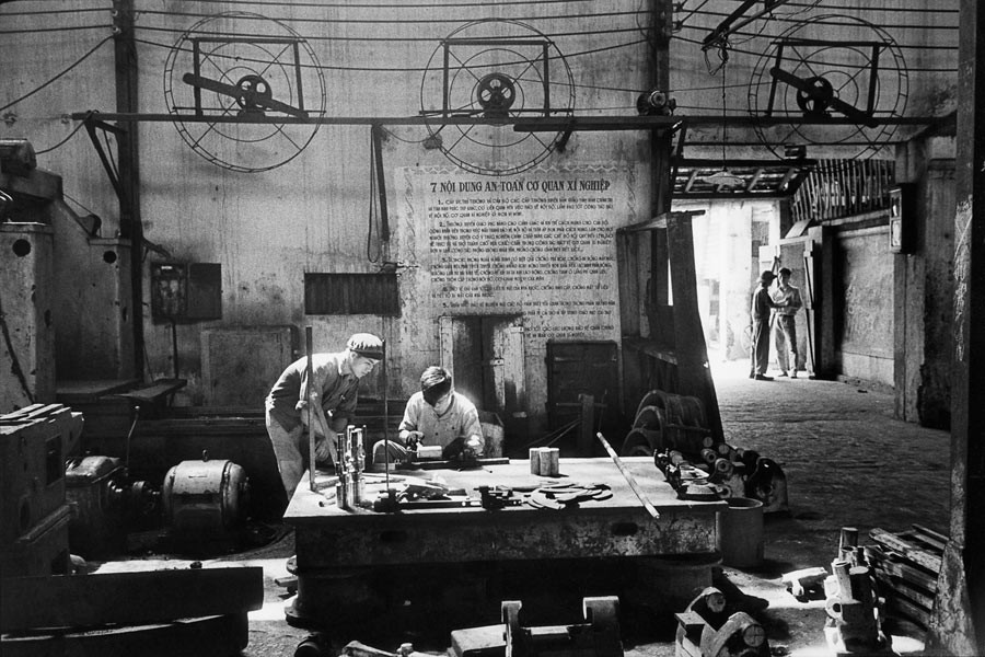 Factory in the area of Haiphong, North Vietnam, 1969