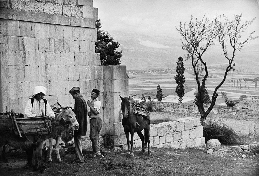 Village de Vrlika, 1953